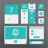 UI set Royalty Free Stock Photos