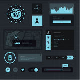 UI set royalty free illustration