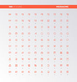 UI UX Messaging Tools Icons Stock Photos
