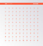 UI UX User Avatars Icons Royalty Free Stock Photography