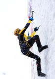 Ice Climbing royalty free stock image