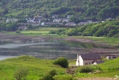 The Uig Free church, Isle of Skye, Scotland Stock Images
