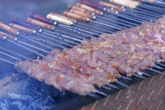 Uighur barbecue Royalty Free Stock Image