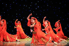 Uighur dance Stock Photos