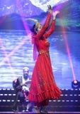 Uighur dance Stock Photos