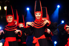 Uighur Dancers Royalty Free Stock Photography
