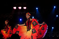 Uighur Dancers Stock Images
