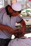 Uighur haircut Royalty Free Stock Photography
