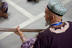 Uighur Maixirefu folk musician Stock Photos
