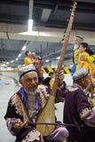 Uighur Maixirefu folk musicians Stock Image