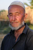 The Uighur peasant portrait Royalty Free Stock Photo