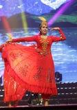 Uighur woman dance Stock Photography