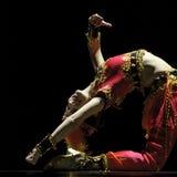 Uigur dance Bell girl Stock Photography