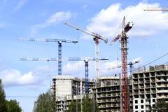 Uilding ένα νέο σπίτι Στοκ φωτογραφία με δικαίωμα ελεύθερης χρήσης