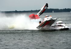 UIM F1 crash Stock Photography