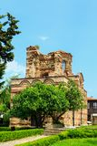 Uined Church of Christ Pantokrator, in old historical Nesebar to Royalty Free Stock Photo