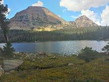 Uinta berg sjö Royaltyfri Fotografi