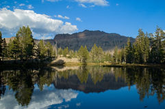 Uinta Mountains landscape. Uinta Mountains lakes landscape, Utah Royalty Free Stock Photo