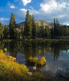 Uinta Mountains landscape. Uinta Mountains lakes landscape, Utah Royalty Free Stock Photos