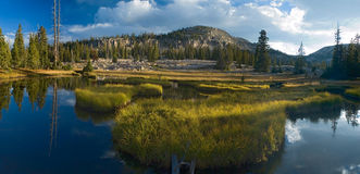 Uinta Mountains landscape. Uinta Mountains lakes landscape, Utah Royalty Free Stock Image