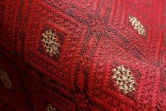 Uis Gara, этническая ткань Karonese стоковое фото