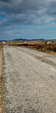 Uist roads. While hiking along Isle of Uist, Grimsey Stock Photos