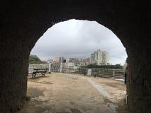 Uit de tunnel royalty-vrije stock fotografie