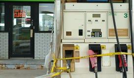 Uit Gas Royalty-vrije Stock Foto's
