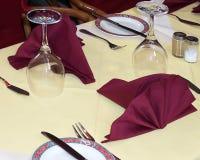 Uit het dineren Royalty-vrije Stock Afbeelding