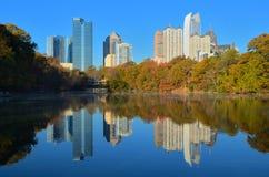 Uit het stadscentrum Atlanta Stock Afbeelding