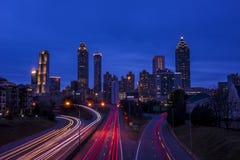 Uit het stadscentrum Atlanta Stock Foto