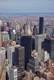 Uit het stadscentrum Manhattan Stock Afbeelding