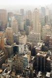 Uit het stadscentrum Manhattan Royalty-vrije Stock Foto