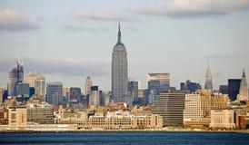 Uit het stadscentrum Manhattan Stock Afbeeldingen