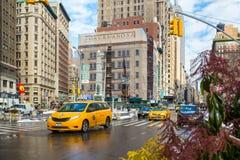 Uit het stadscentrum Manhattan Stock Foto