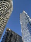 Uit het stadscentrum Torens Stock Fotografie
