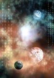 Uit ruimte Stock Afbeelding