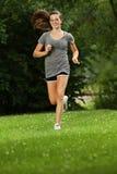 Uit voor jog stock fotografie