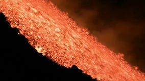 Uitbarsting van Volcano Etna, Italië stock videobeelden