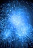 Uitbarstingen van vuurwerk royalty-vrije stock afbeelding