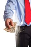 Uitbetaling Stock Foto
