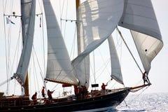 Uitdaging 2008 van de Jachten van Panerai de Klassieke Stock Foto's