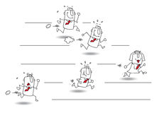 uitdaging vector illustratie