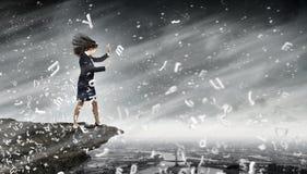 Uitdaging in zaken Stock Afbeelding