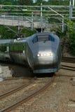 Uitdrukkelijk-trein in Noorwegen stock afbeeldingen