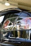Uiteinde van auto in toonzaal Royalty-vrije Stock Foto