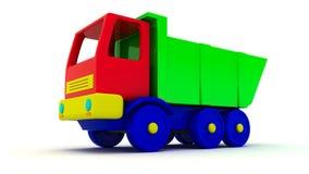 Uiteinde-vrachtwagen royalty-vrije illustratie