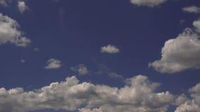 Uiteindelijke Wolken tijd-Tijdspanne stock videobeelden