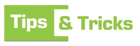 Uiteinden en Trucs Groene Horizontale Streep stock illustratie