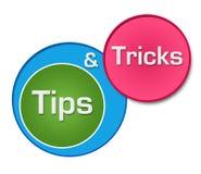 Uiteinden en Trucs Kleurrijke Cirkels stock illustratie